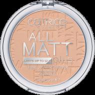 Пудра компактная CATRICE All Matt Plus Shine Control Powder 025 Sand Beige песочно-бежевый: фото
