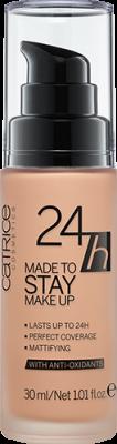 Тональная основа CATRICE 24h Made To Stay Make Up 025 Warm Beige темно-бежевый: фото