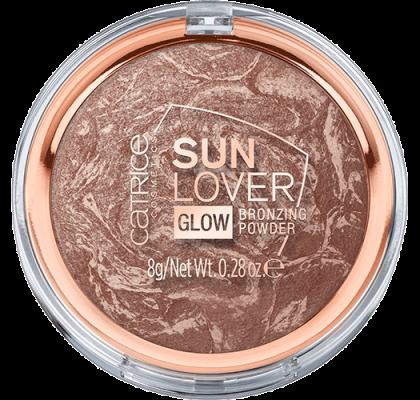 Компактная пудра бронзирующая Sun Lover Glow Bronzing Powder Сatrice 010 с эффектом загара: фото