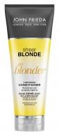 Кондиционер осветляющий для натуральных, мелированных и окрашенных волос John Frieda Sheer Blonde Go Blonder 250 мл: фото