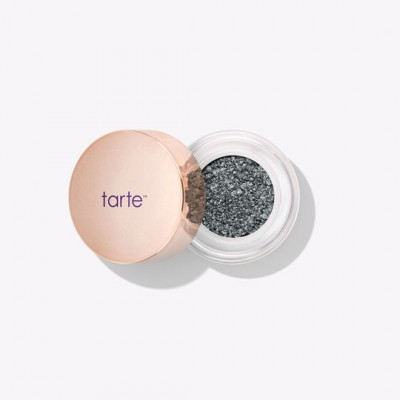 Тени для век Tarte chrome paint shadow pot Steel The Show Metallic Steel Navy: фото