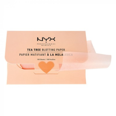 Матирующие салфетки NYX PROFESSIONAL MAKEUP MATTE TREE BLOTHING PAPER: фото