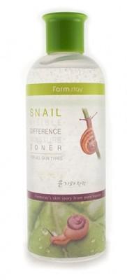Тонер с экстрактом улитки FARMSTAY Visible differerce moisture toner snail 350мл: фото