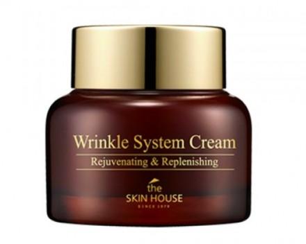 Крем антивозрастной питательный с коллагеном THE SKIN HOUSE Wrinkle system cream 50г: фото