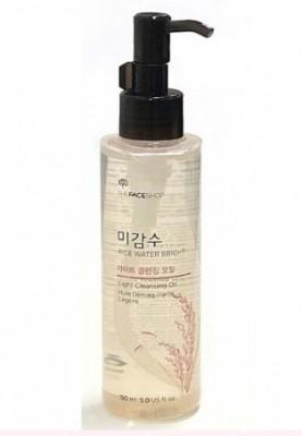 Гидрофильное масло для жирной кожи THE FACE SHOP Rice Water Bright Cleansing Light Oil: фото
