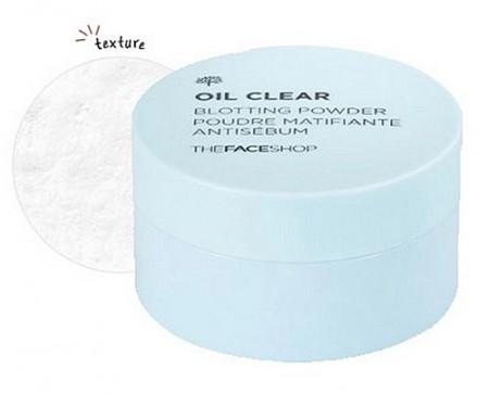 Пудра рассыпчатая для жирной кожи THE FACE SHOP Oil Clear Blotting Powder: фото