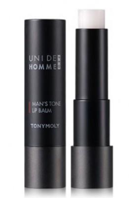 Бальзам для губ для мужчин TONY MOLY Uni de homme man's tone lip balm: фото