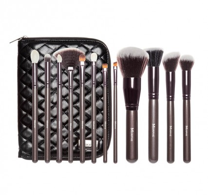 Набор кистей MORPHE SET 503 - 12 PIECE BEAUTIFUL AND BRONZE SET: фото