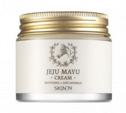 Крем для лица с лошадиным жиром SKIN79 Jeju mayu cream 100 г: фото