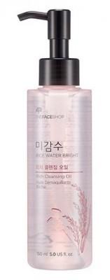 Гидрофильное масло для сухой кожи THE FACE SHOP Rice Water Bright Cleansing Rich Oil: фото