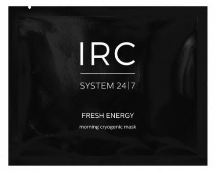 УТРЕННЯЯ АЛЬГИНАТНАЯ КРИО-МАСКА ПРОТИВ ОТЕЧНОСТИ IRC FRESH ENERGY 25 г: фото