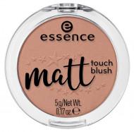 Румяна ESSENCE Matt Touch 70 коричневый нюд: фото