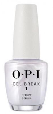 Восстанавливающее выравнивающее базовое покрытие OPI Gel Break Serum Base Coat NTR01: фото