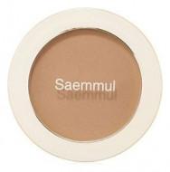 Румяна THE SAEM Saemmul Single Blusher BR02 Naked Brown(Shading) 5гр: фото