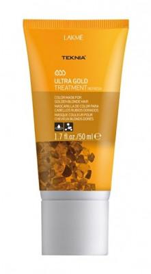 Средство для поддержания оттенка окрашенных волос LAKMÉ ULTRA GOLD TREATMENT Золотистый 50мл: фото