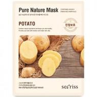 Маска для лица тканевая Anskin Secriss Pure Nature Mask Pack-Potato 25мл: фото