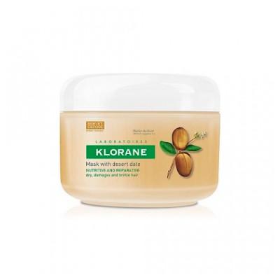 Маска питательно-восстанавливающая с маслом Финика пустынного Klorane Dry Hair 150мл: фото