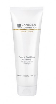 Термомаска-эксфолиант кремовая Клюква Janssen Cosmetics Thermo peel mask Cranberry 300г: фото