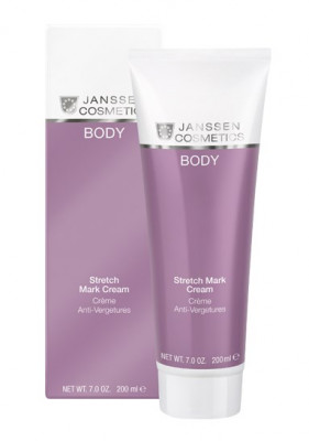 Крем против растяжек Janssen Cosmetics Stretch Mark Cream 200мл: фото