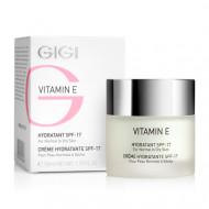 Крем увлажняющий для сухой кожи Витамин Е GIGI Vitamin E Moisturizer for dry skin SPF17 50 мл: фото