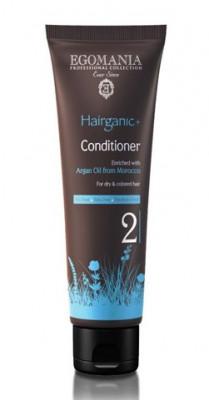 Кондиционер с маслом арганы для сухих и окрашенных волос Egomania Hairganic+ Argan Oil 250мл: фото