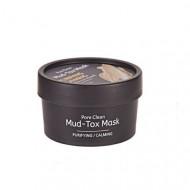 Маска для лица с каолиновой глиной TheYEON Pore Clean Mud-Tox Mask [Yellow] 80гр: фото