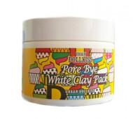 Маска очищающая с белой глиной Baviphat Urban Dollkiss Pore Bye White Clay Pack 100мл: фото
