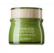 Крем освежающий с экстрактом новозеландского льна THE SAEM Urban Eco Harakeke Fresh Cream 60мл: фото