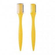 Щетка-корректор бровей желтая в наборе THE SAEM Eyebrow Trimmer 2шт: фото