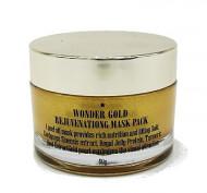 Маска для лица омолаживающая с золотом ETTANG Wonder Gold Rejuvenating Mask Pack 50г: фото