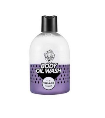 Гель-масло для душа двухфазный с ароматом пачули VILLAGE 11 FACTORY Relax Day Body Oil Wash Violet 300мл: фото