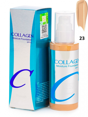 Тональная основа ENOUGH Collagen Moisture Foundation #23 100мл: фото