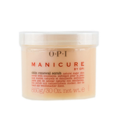 Скраб обновляющий с натуральными сахарными кристалами OPI Manicure Skin Renewal crub 858г: фото