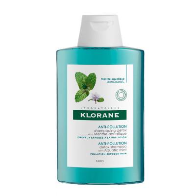 Шампунь-детокс с экстрактом водной мяты Klorane Aquatic Mint 200 мл: фото