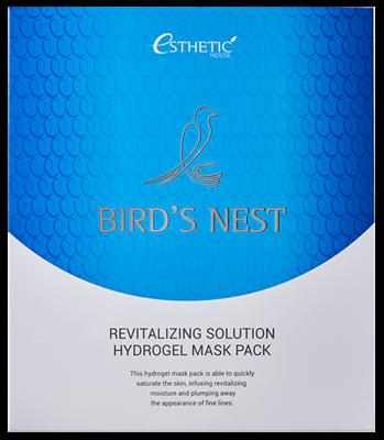 Маска для лица гидрогелевая ESTHETIC HOUSE BIRD'S NEST REVITALIZING HYDROGEL MASK PACK 5шт: фото