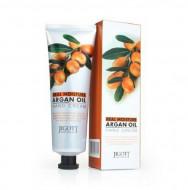 Увлажняющий крем для рук с аргановым маслом JIGOTT Real Moisture Argan Oil Hand Cream: фото