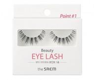 Накладные ресницы THE SAEM Beauty Eye Lash Point 01: фото