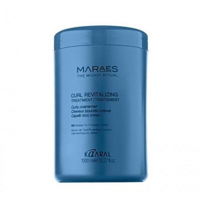 Кондиционер восстанавливающий для вьющихся волос Kaaral MARAES Curl Revitalizing Treatment 1000 мл: фото