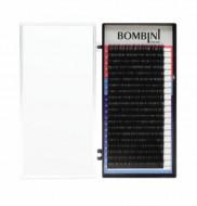 Ресницы Bombini Черные, 20 линий, D+, 0.07, 8: фото