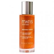 Масло сухое с эффектом мерцания для лица, тела и волос Matis 50 мл: фото
