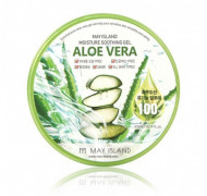 Гель с экстрактом алое May Island ALOE VERA 100% SOOTHING GEL 300мл: фото