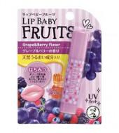 Бальзам для губ со вкусом винограда и лесных ягод MENTHOLATUM Lip Baby Fruits Grape & Berry 4,5 г: фото