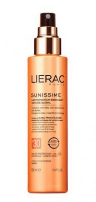 Солнцезащитное тонизирующее молочко для тела Lierac Sunissime SPF30 150мл: фото